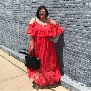 Ashley Nell Tipton Poppy Summer Maxi Dress
